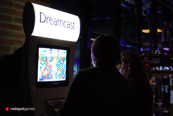 W&W at Digital Analog running on an official Sega Dreamcast Kiosk