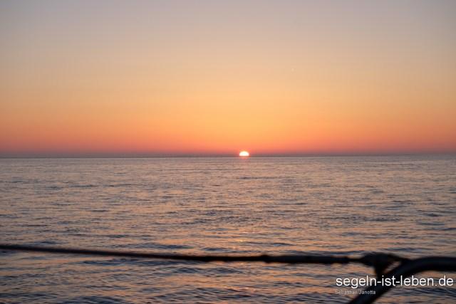 Sonnenaufgang Wattenmeer