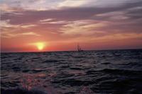 Biskaya, über Bord, gerettet