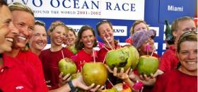 """Das Frauenteam von """"Amer Sports Too"""" war das letzte beim Volvo Ocean Race. 2014 wird die Tradition fortgesetzt. © VOR"""