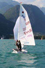"""""""Pink Passion"""". Das Frauenteam vom Starnberger See freuten sich über den Silber-Erfolg. © Michael Grasse"""