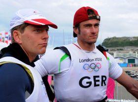 Tobias Schadewaldt und Hannes Baumann konnten nicht über sich hinauswachsen. Aber sie bestätigten die WM-Ergebnisse. © Marina Könitzer