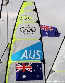 Austrailia rules the waves. Die Aussies können vier Goldmedaillen gewinnen. © Marina Könitzer