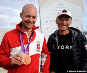 Bronze für Dänemark in einem knappen Medalrace. © Marina Könitzer