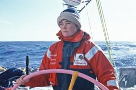 Tracy Edwards führte erstmals 1989 ein rein weibliches Team beim Whitbread Race um die Welt. © VOR