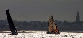 """""""Mare"""" noch voll bei Kräften vor dem Bugspriet-Bruch beim Normandie Channel Race. © Jean Marie Liot"""