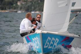 Jens Kroker, Robert Prem und Siegmund Mainka (NRV/YCBG) scheinen auf den Punkt bei den Paralympics fit zu sein. © BASF