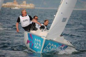 Jens Kroker, Siegmund Mainka und Robert Prem holten Paralympics Silber. © IFDS