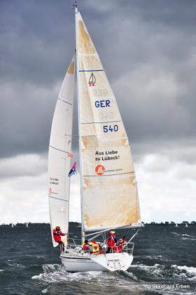 71 Yachten segelten in 3 Ligen gegen einander © E.Erben