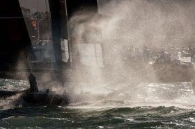 Die AC45 Veranstaltung in San Francisco war ein beeindruckendes Action Spektakel. © ACWS