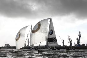 BMW Sailing Cup Deutschlandfinale 2012 Hamburg – echtes Elbfeeling © BMW