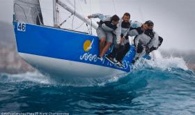 """Die spanische Mar de Frades-Crew gab alles – es reichte """"nur"""" für Rang 2 © Ainhoa Sanchez"""
