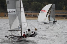 Das Duo Borkenstein/Dietrich setzte sich klar gegen ihre Konkurrenz durch © Int14 KV