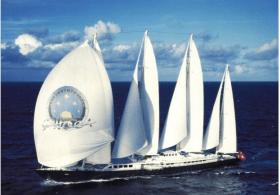 War lange Zeit Die größte Segelyacht der Welt: 78m-Phocéa © Fraser-Yachts