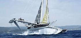 Das Projekt um das schnellste Segelschiff der Welt ist ins Schlingern geraten. © Hydroptère