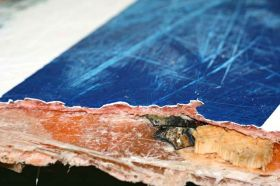 Muscheln in Wrackteilen © US-Coast-Guard