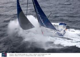 Geht Armel Le Cléac'h bei der Vendée Globe bald wieder in Führung? Zahlt sich sein Risiko aus. © JEAN-MARIE LIOT / DPPI