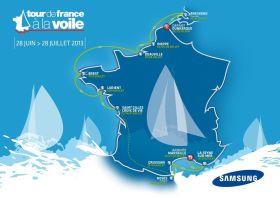 Die neue Route rund Frankreich 2013.