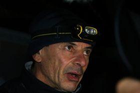 Der enttäuschte Marc Guillemot nach seinem Ausscheiden bei der Vendée Globe. © JEAN MARIE LIOT / DPPI