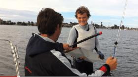 O'Connor, Segeln ohne Ruder, 29er