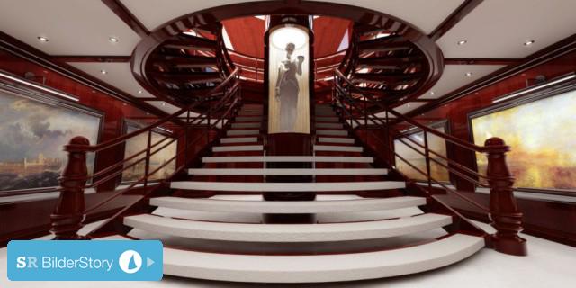 "141 Meter ""Dream Symphony"": Größte private Segelyacht der Welt nimmt Form an"