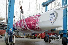 Die alte Puma Yacht für den Auftritt des Frauen-Teams