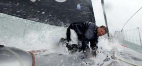 "Alex Thomson mit ""Hugo Boss"""