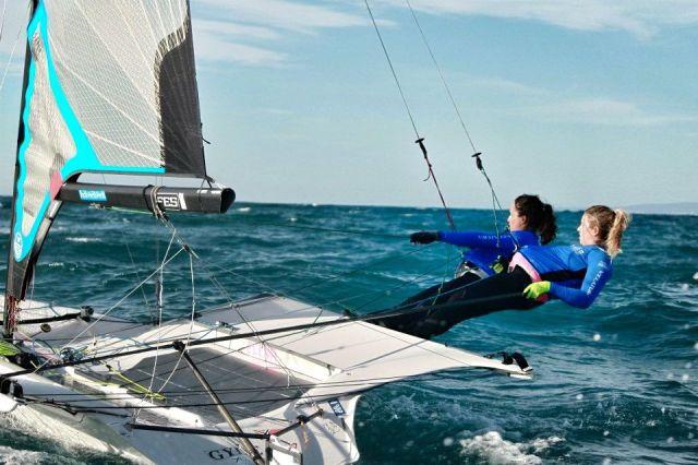 Neue olympischen Bootsklasse 49er FX