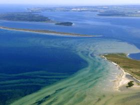 Die Ostsee von oben