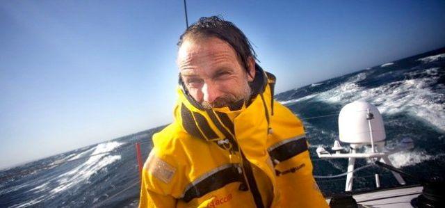 Javier Sanso bei der Vendée Globe
