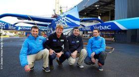 Das neue Team um Skipper Jean Pierre Dick