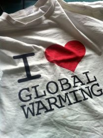 Global warming Shirt von Digger Hamburg