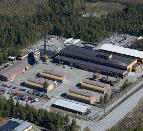 Baltic Zentrale im finnischen Bosund.
