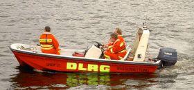 DLRG auf der Alster
