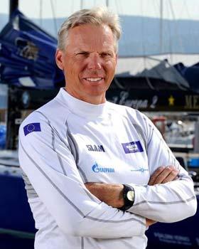 Jochen Schümann, Skipper der Esimit Europa 2 © Rolex/Guido Trombetta
