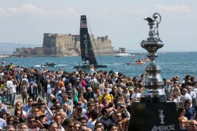 America's Cup World Series in Neapel.