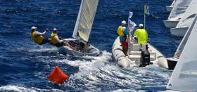 Pfadfinder-Start bei der 505er WM in Barbados.