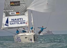 Der deutsche Match Race Meister Sven Erik Horsch