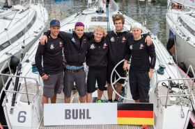 Team Germany beim Match Race