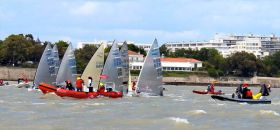 Finn Masters Medalrace vor La Rochelle