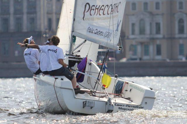 Match Race in St. Petersburg.