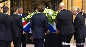 Die Beerdigung von Andrew Simpson