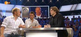 Erik Heil (l.) und Philipp Buhl im ZDF Sportstudio