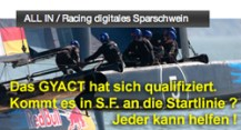 ALL IN / Racing digitales Sparschwein auf SR