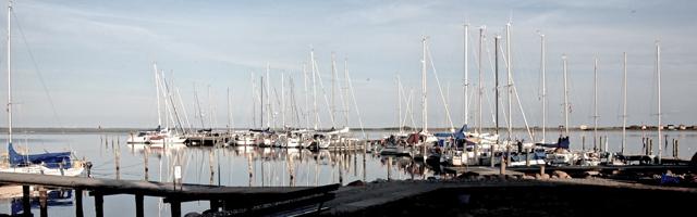 Typischer Hafen in der dänischen Südsee. Noch ist alles ruhig ... © Stephan Boden