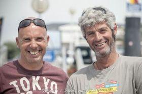 Jörg Riechers mit Sebastien Audigane