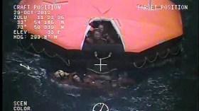 Beklemmende Atmosphäre bei der Rettung © coast guard