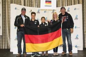 Ein kleines, aber sehr erfolgreiches deutsches Team © Ingrid Owen Photography