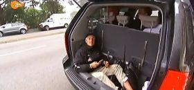 All In Steuermann Erik Heil muss auf dem Weg zur Arbeit in San Francisco mit dem billigen Platz vorlieb nehmen.
