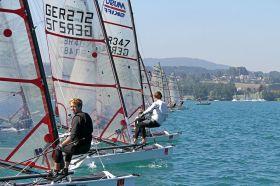 Schwerdt (GER 272) mit gutem Start. © Sport Consult / Gert Schmidleitner